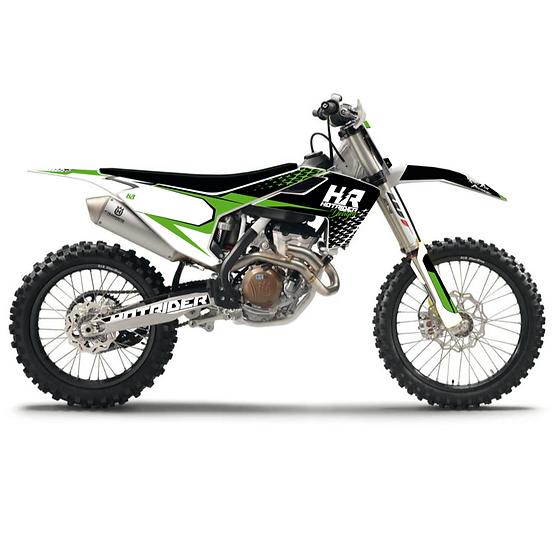 Kit déco moto Enjoy vert