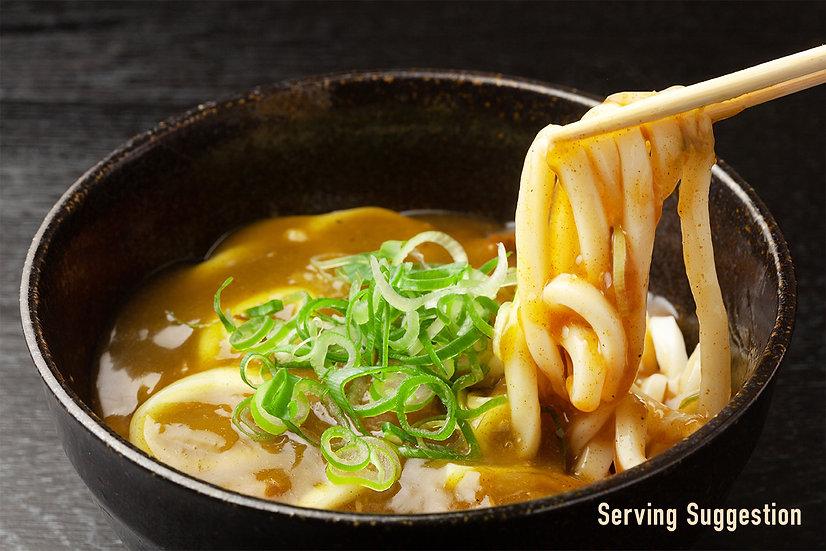 """明治製麺手打ちうどん「カレー/きつねうどん」Meiji Seimen Handmade Udon Noodles """"Curry/Kitsune"""""""