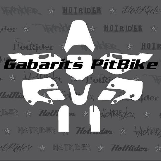 Gabarit kit déco pit bike