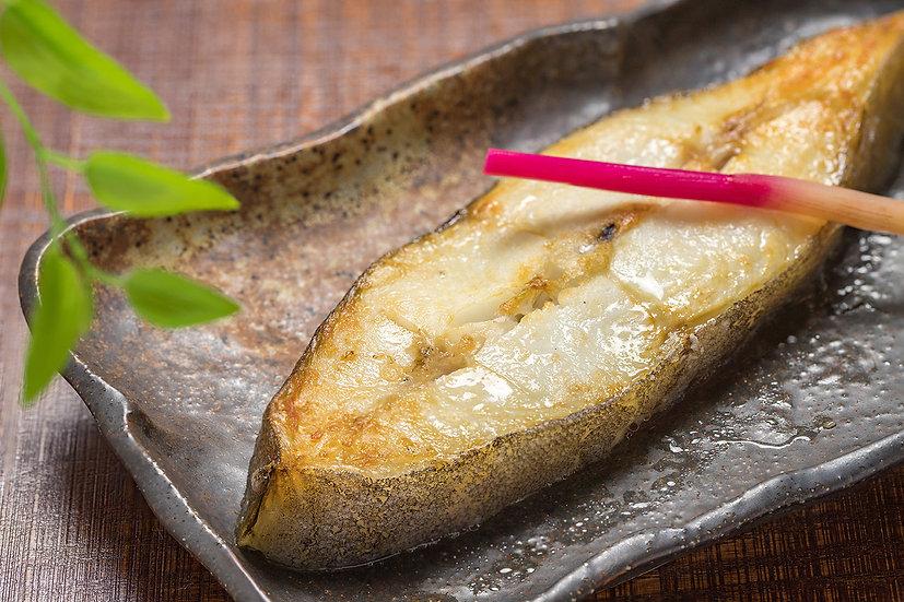 Grilled Halibut with Saikyo Miso カラスガレイ西京焼き