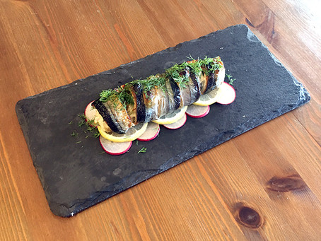 Oven-Baked Sanma (Pike Mackerel) Cheese Roll (English Ver.)