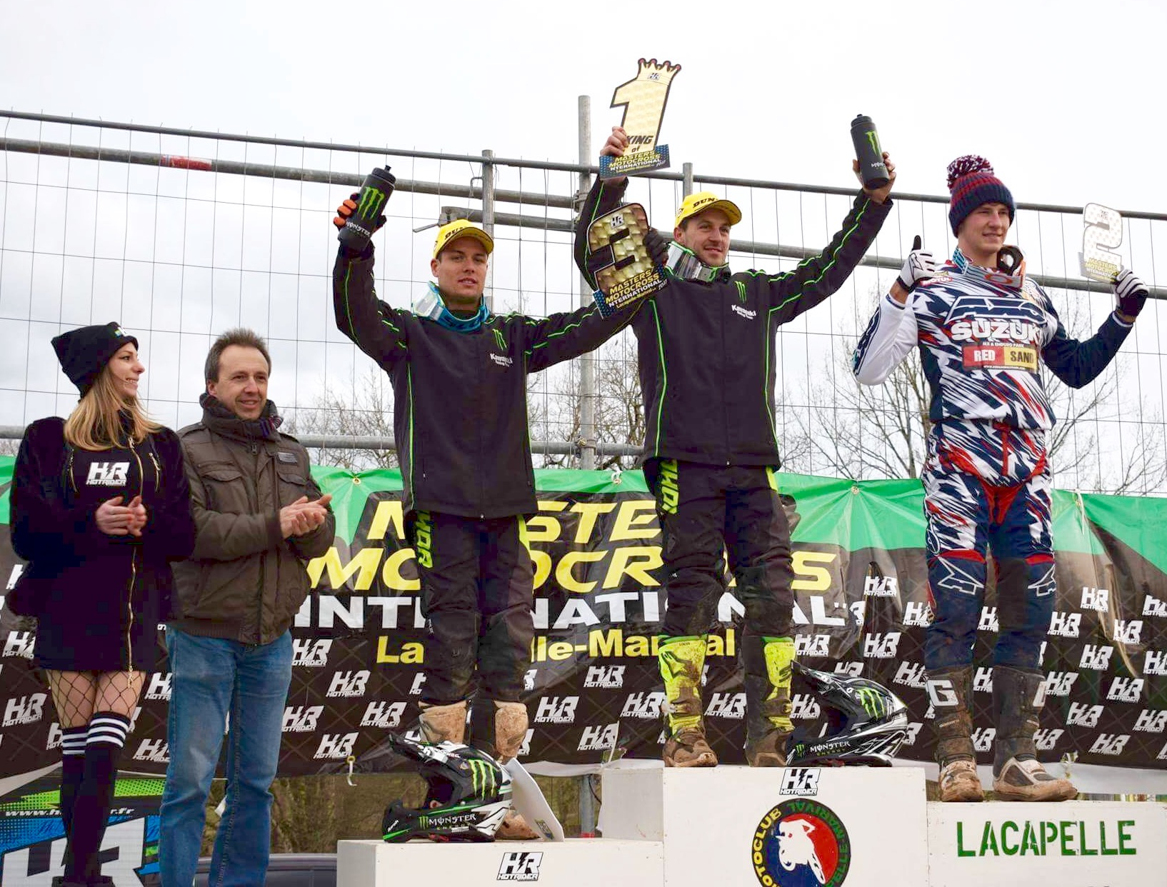 Podium superfinale Lacapelle