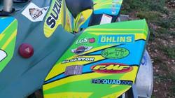 Kit déco perso quad Suzuki