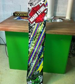 Déco snowboard personnalisée