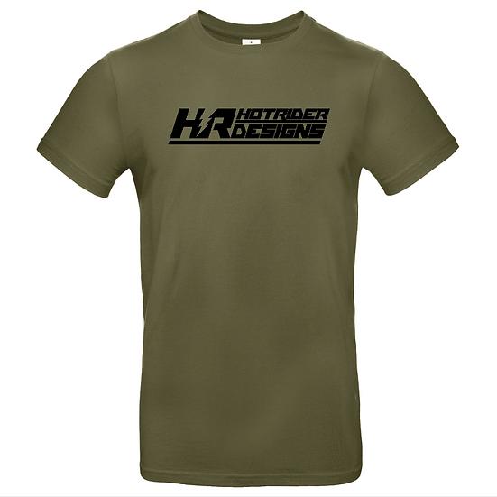 Tee-shirt kaki Triblend HotRider Designs