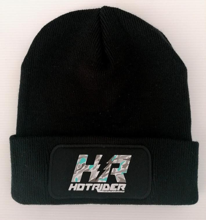 Bonnet noir HR Camo