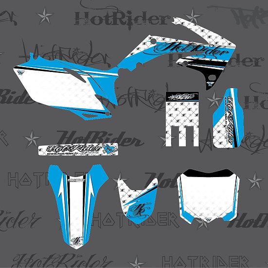 Kit déco moto Hotcouture bleu