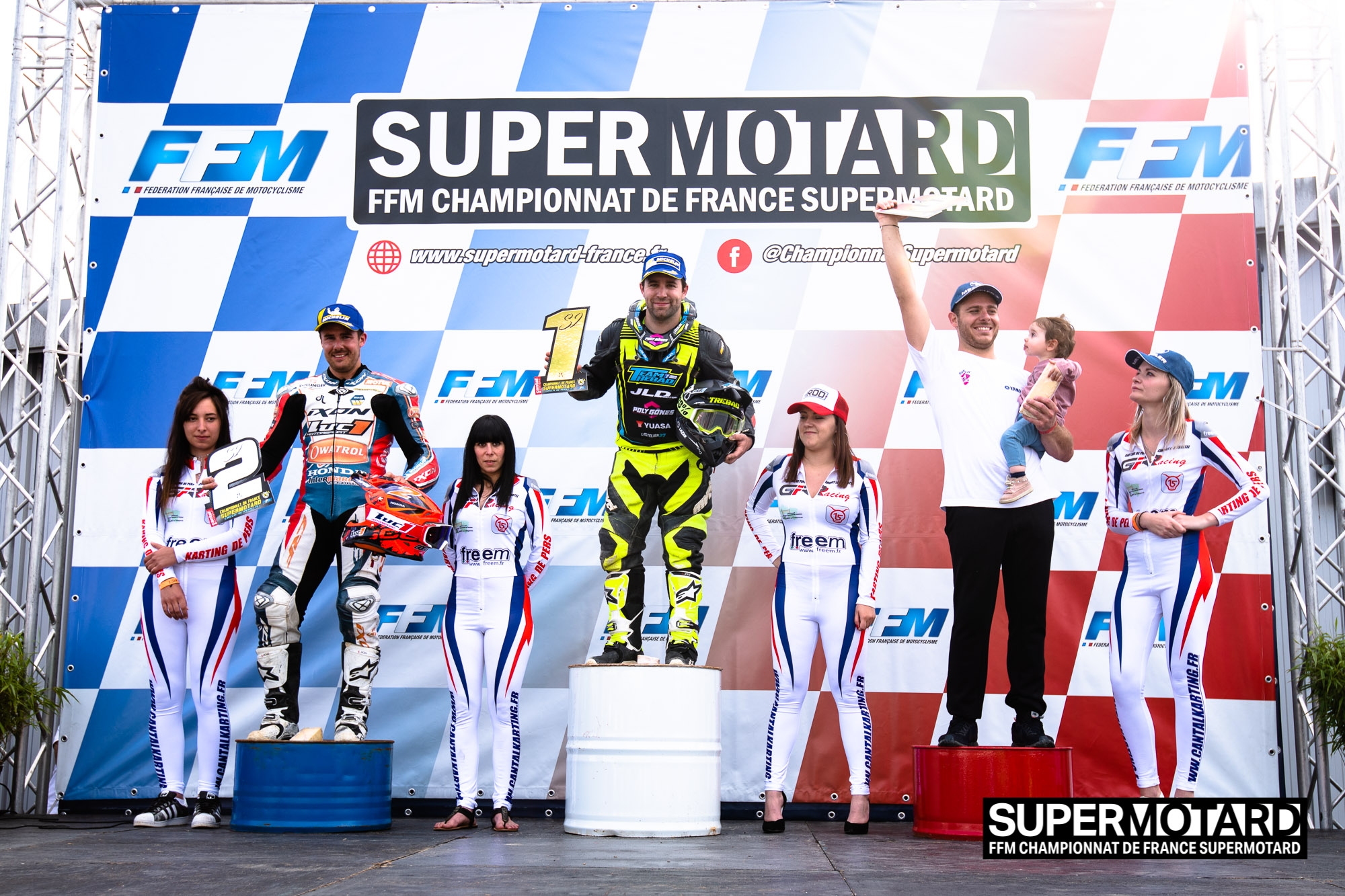 Podium Supermotard