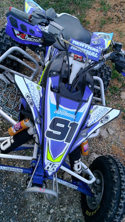 Kit déco perso quad Yamaha