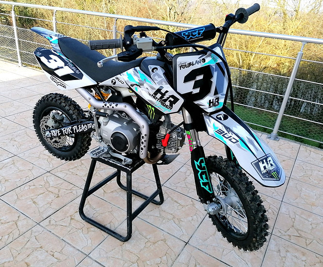 Kit déco pit bike Camo