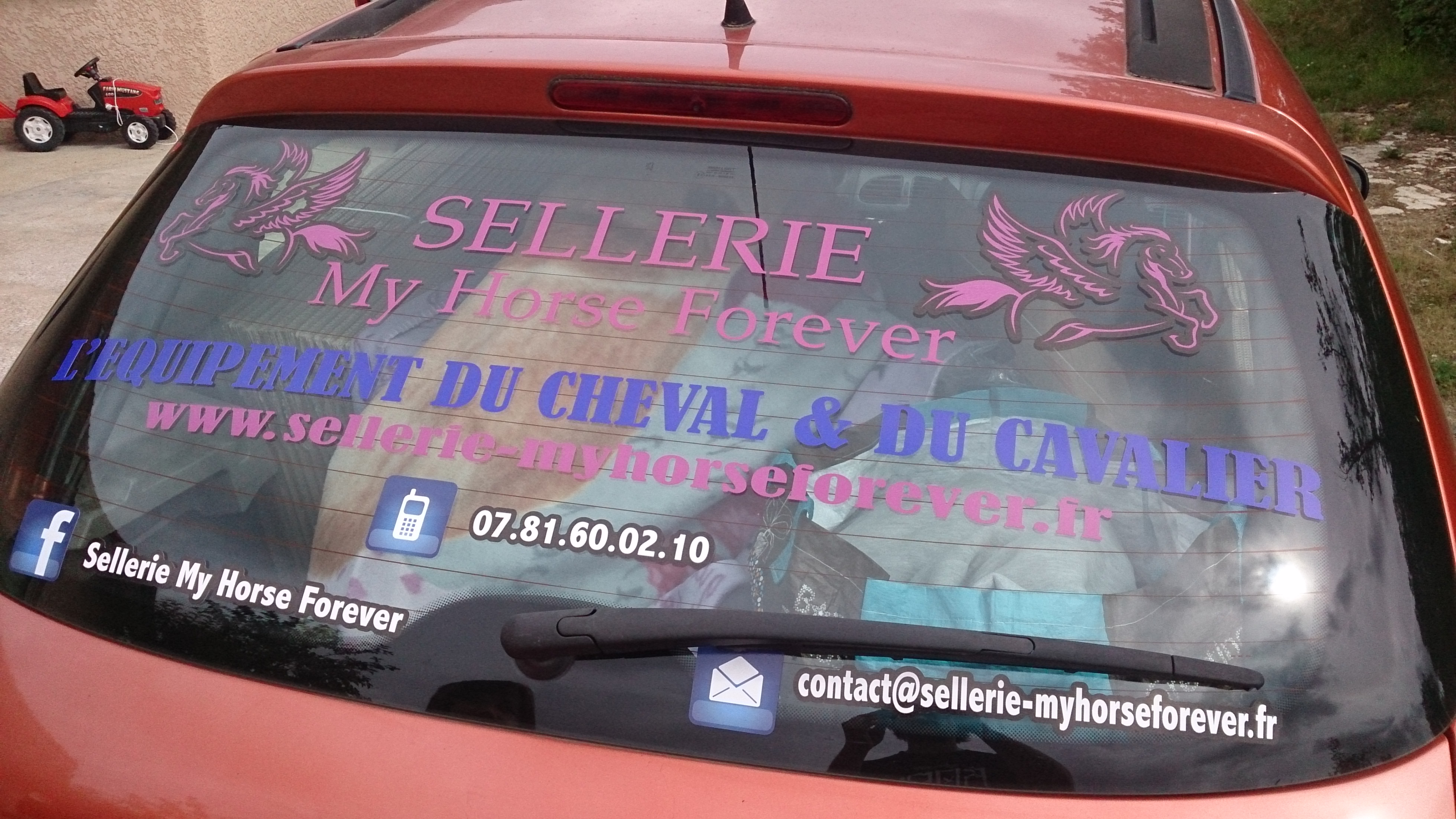 Stickers véhicule