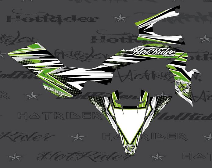 Kit déco quad Elite vert