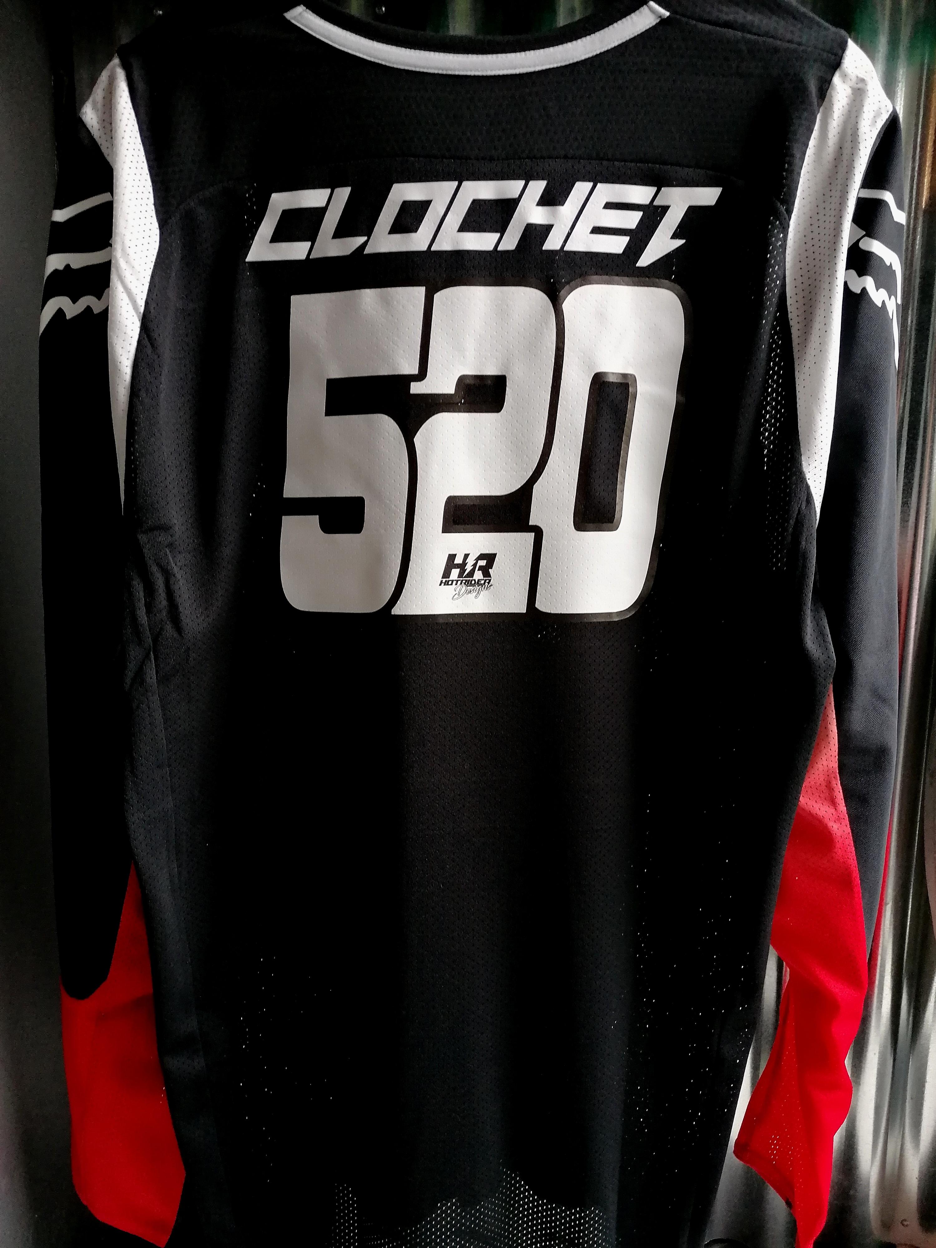 Flocage maillot personnalisé CLOCHET
