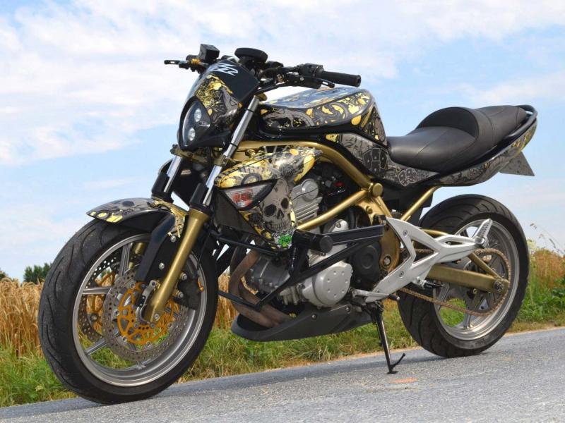 Kit déco perso Kawasaki ER6
