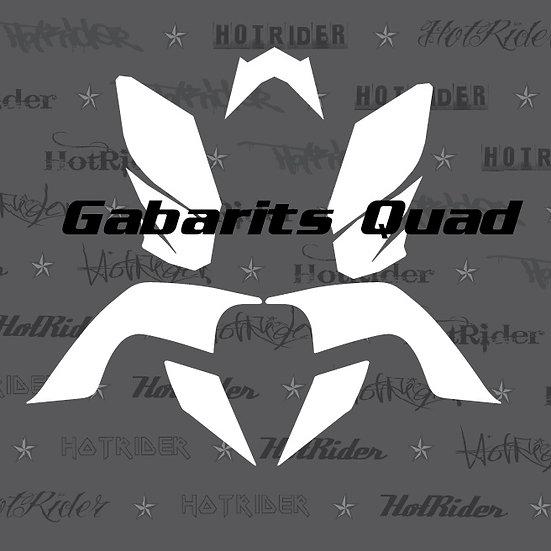 Gabarit kit déco quad