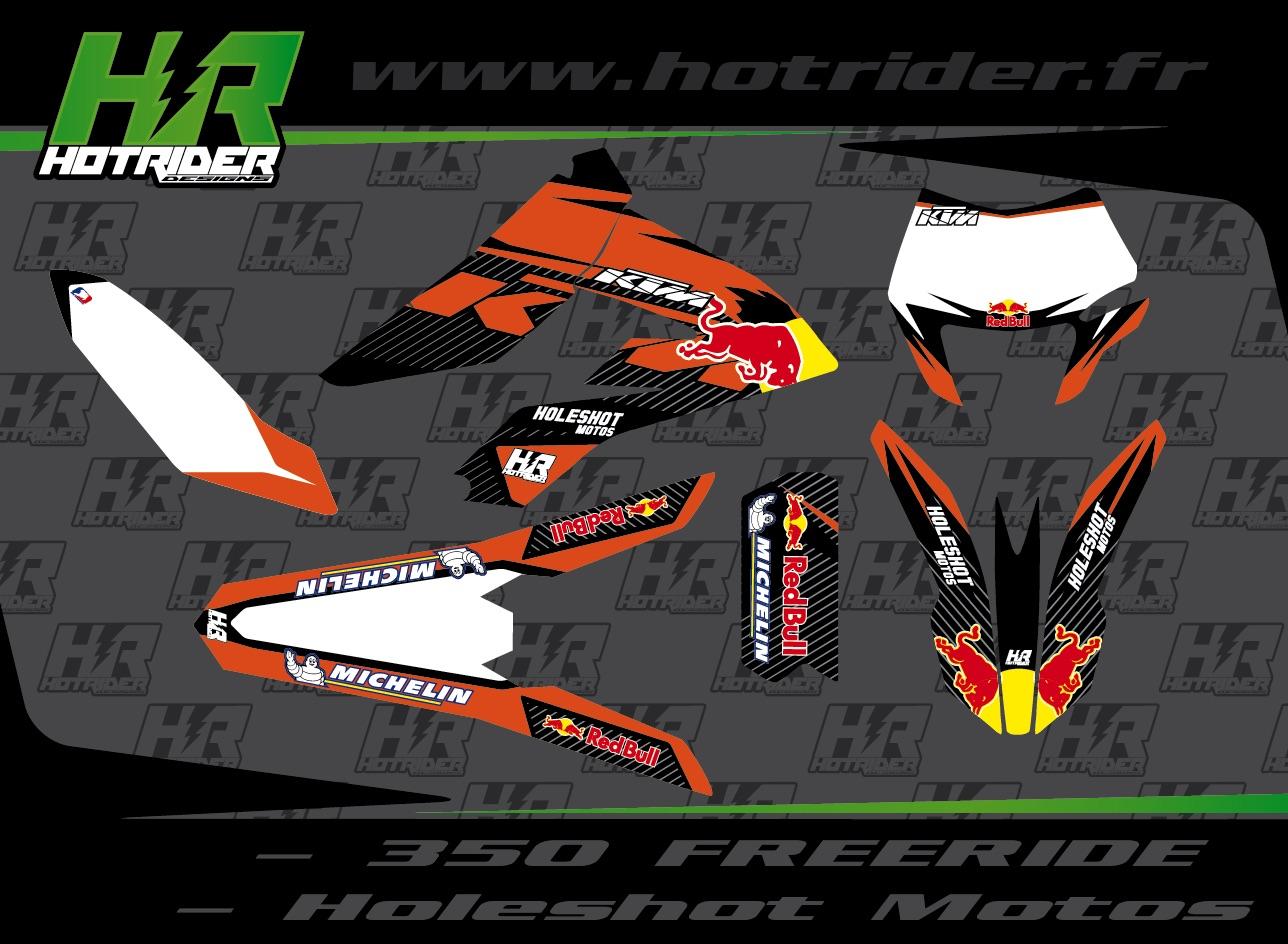 Kit déco perso moto KTM