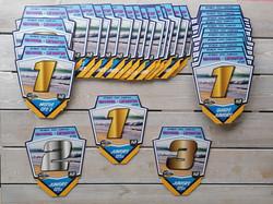 Plaques trophées CFS Hossegor