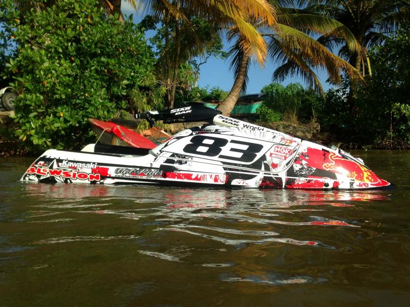 Kit déco perso jet ski 750 SXI