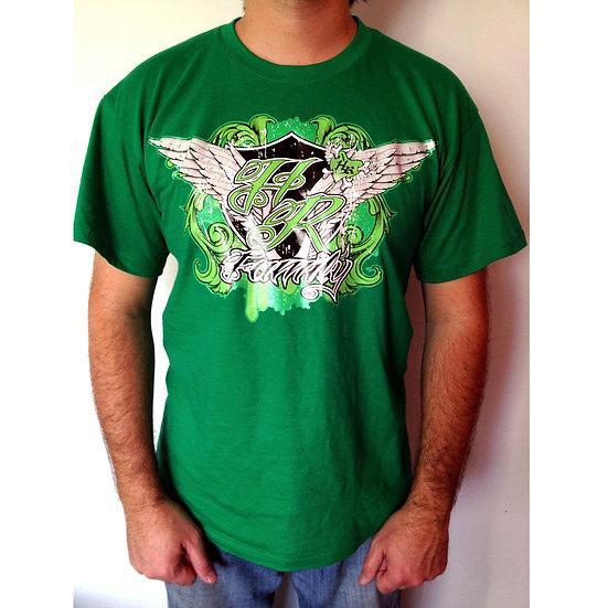 Tee-shirt vert Angel HotRider Designs