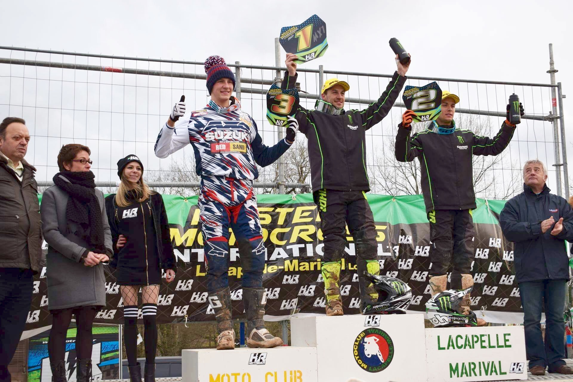 Podium MX1 Lacapelle