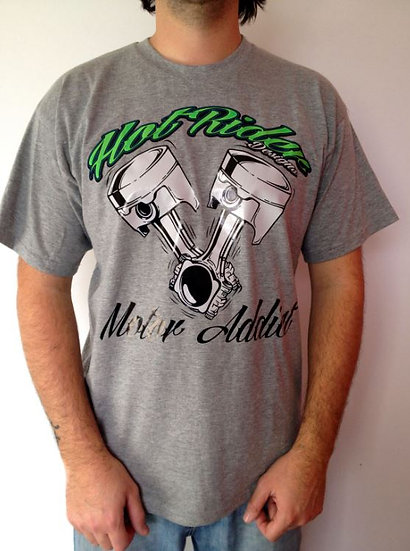 Tee-shirt gris Motora HotRider Designs