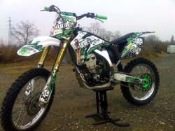 Kit déco perso 250 YZF