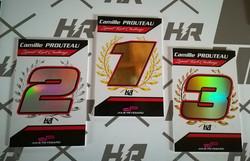 Plaques Trophées karting
