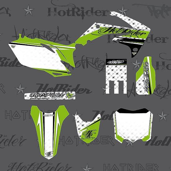 Kit déco moto Hotcouture vert
