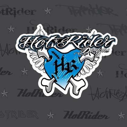 Sticker Heart bleu