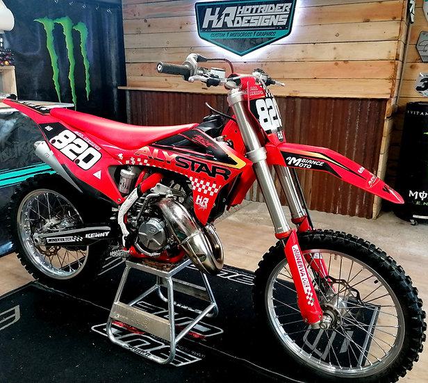 Kit déco moto ALYSTAR 21