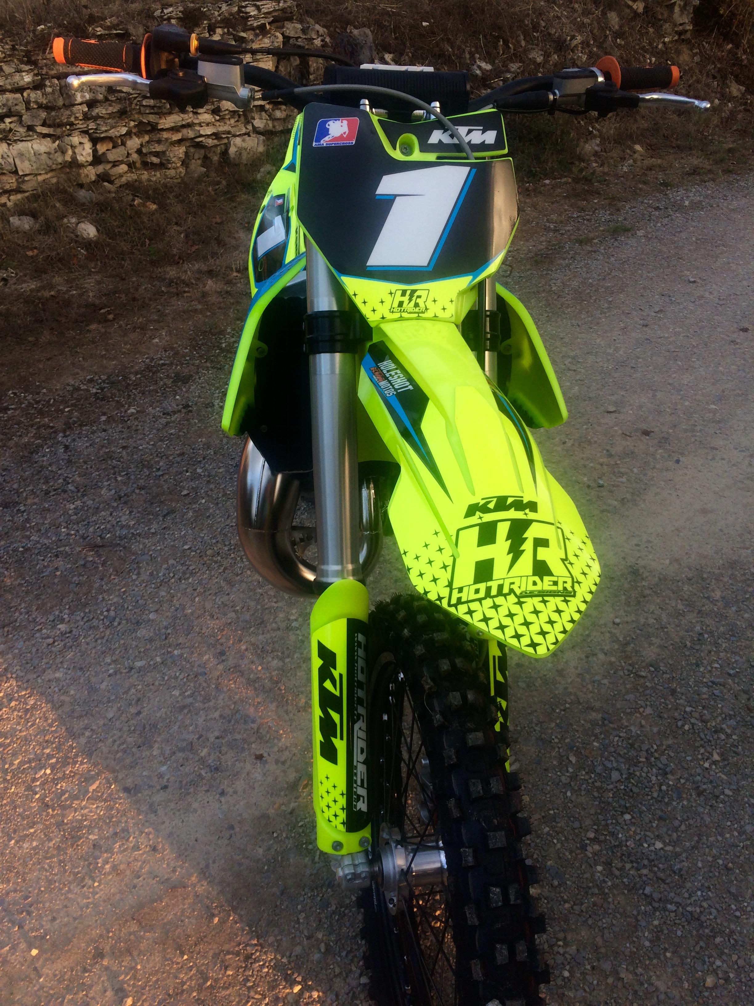 Kit déco perso moto 150 SX