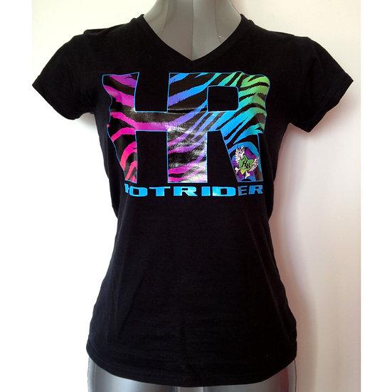 Tee-shirt noir HR ZBR