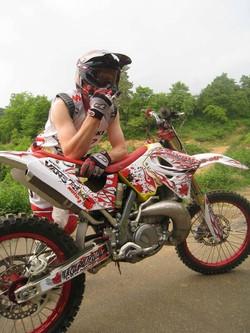 Kit déco perso motocross 250 RM