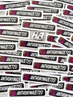 Sticker personnalisé Instagram