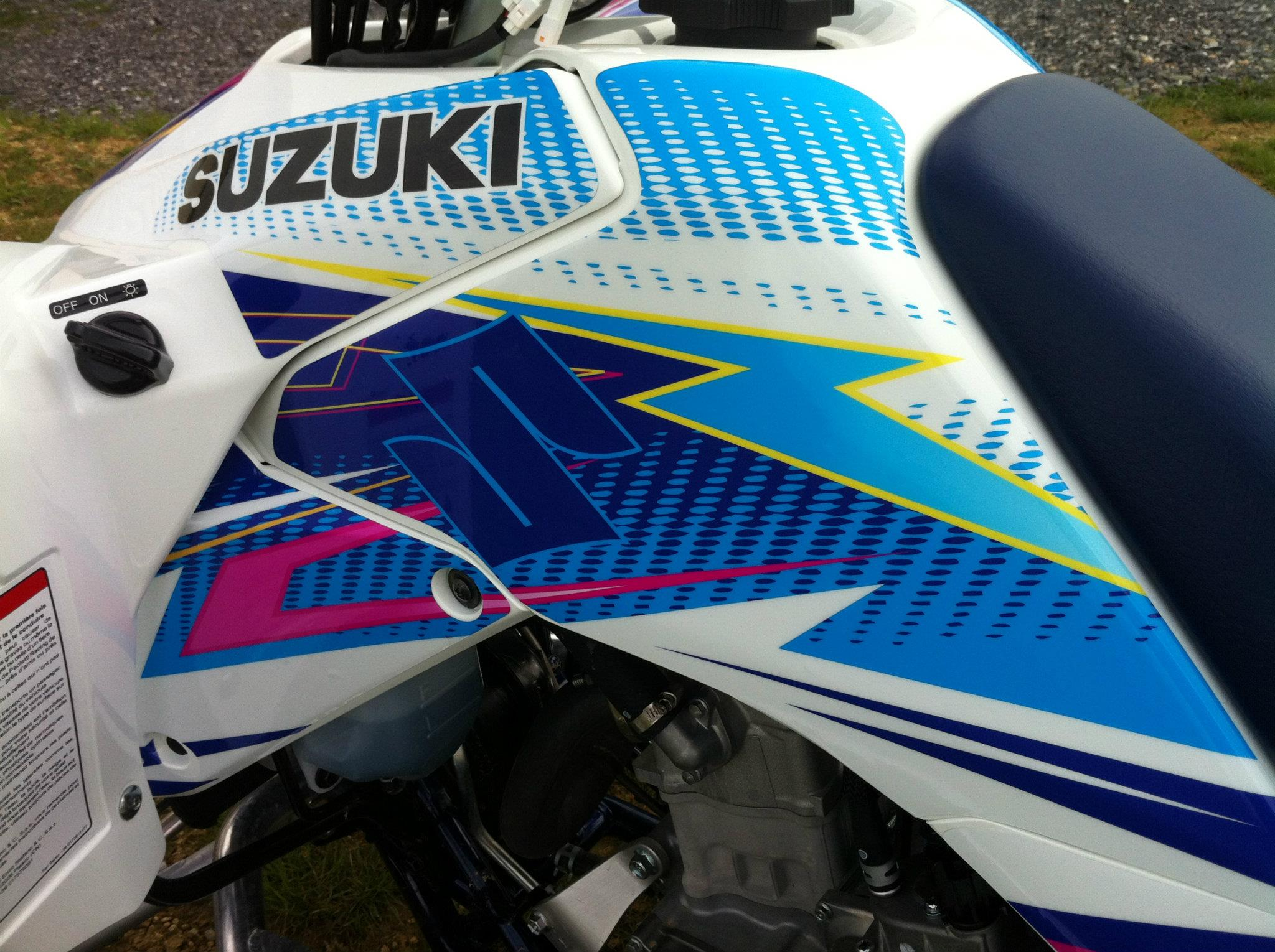 Kit déco perso quad Suzuki 400 LTZ