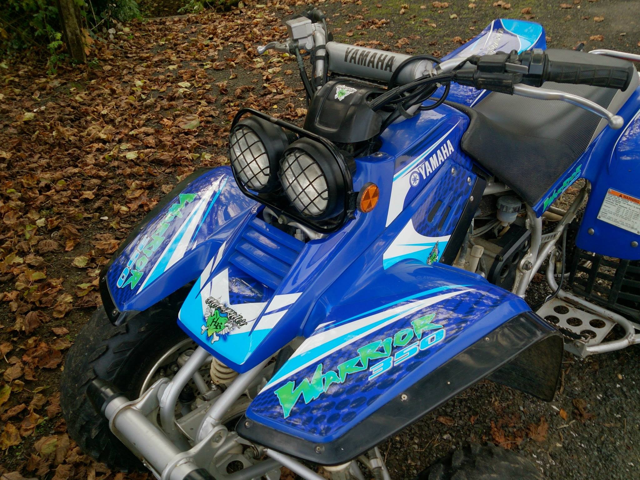 Kit déco perso quad Yamaha Warrior
