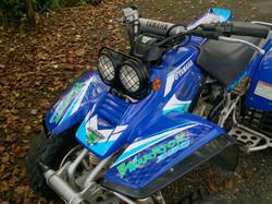 Kit déco perso quad Yamaha Warrior