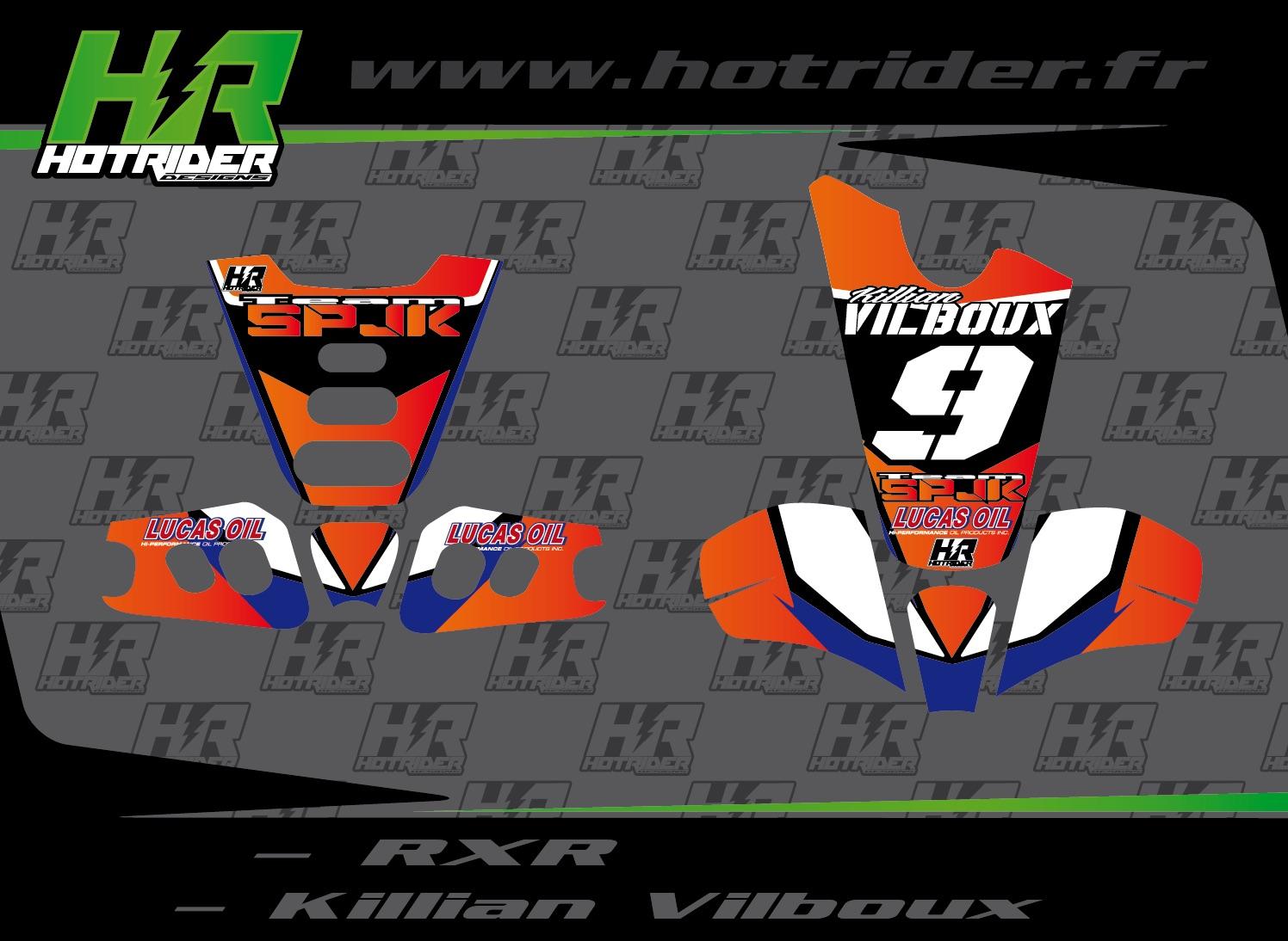 Kit déco perso RXR Strongflex