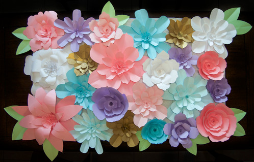 Diy paper flower backdrop khdesign diy paper flower backdrop mightylinksfo