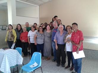 Paróquia realizou formação para interessados em participar de missões.