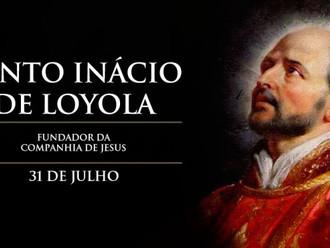 Hoje é a festa de Santo Inácio de Loyola, fundador da Companhia de Jesus