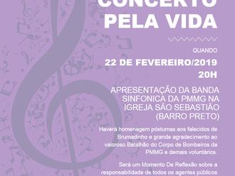 Igreja São Sebastião, no Barro Preto, apresenta concerto em homenagem às vítimas da tragédia em Brum