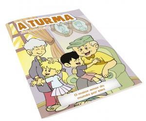 Edição de julho e agosto da Revista A Turma reflete sobre o Dia dos Avós