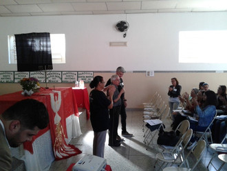 Encontro de formação para Catequistas de Iniciação Cristã ocorreu no Salão Paroquial Padre Tiago