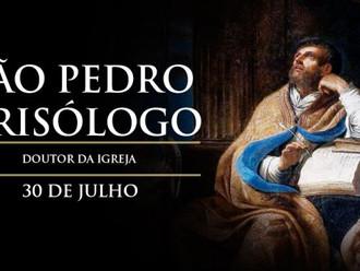 Hoje é festa de São Pedro Crisólogo, o homem de palavras de ouro