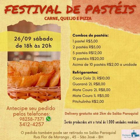 Festival de Pastéis - dia 26.09