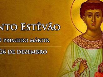 Hoje a Igreja celebra Santo Estêvão, diácono e primeiro mártir