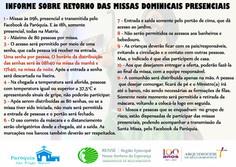 Missas dominicais na Matriz voltam a ser presenciais-veja as regras para a participação responsável
