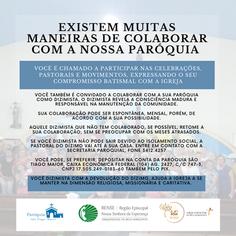Convite à participação comunitária