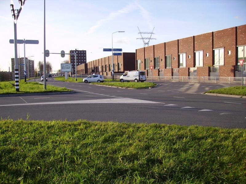 Leiderdorp afvoerputje van Ringweg Noord